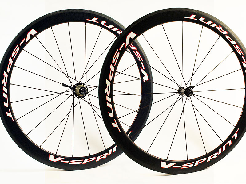 Carbon Road Wheels Aero Pro Race Tubular V Sprint