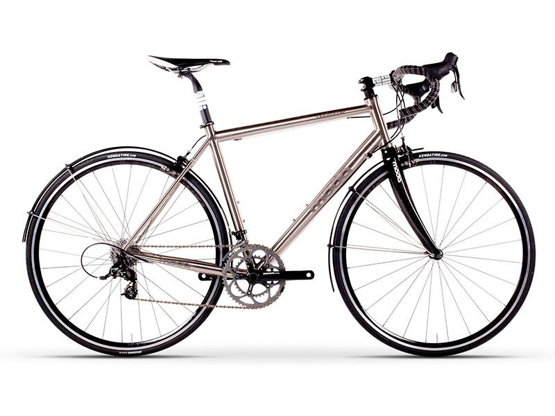 Moda Nocturne Titanium Road Bike
